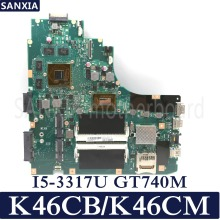 KEFU K46CB K46CM laptop motherboard for ASUS K46CB K46CM K46C K46 Test original mainboard I5 3317U