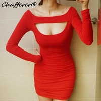 Women Long Sleeve Straight Tight Sexy Party Evening Dress Package Hip Low Cut Nightclub Dance Costumes