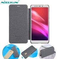 Nillkin For XiaoMi RedMi 5 Plus Flip Cover Case Sparkle Super Thin Flip Cover Case For