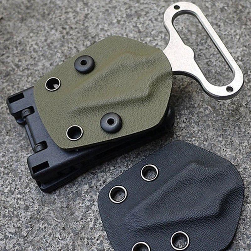 Kydex Vaina Cintura Pinza Clip de Cinturón de Caza Que Acampa Gear Multifunción