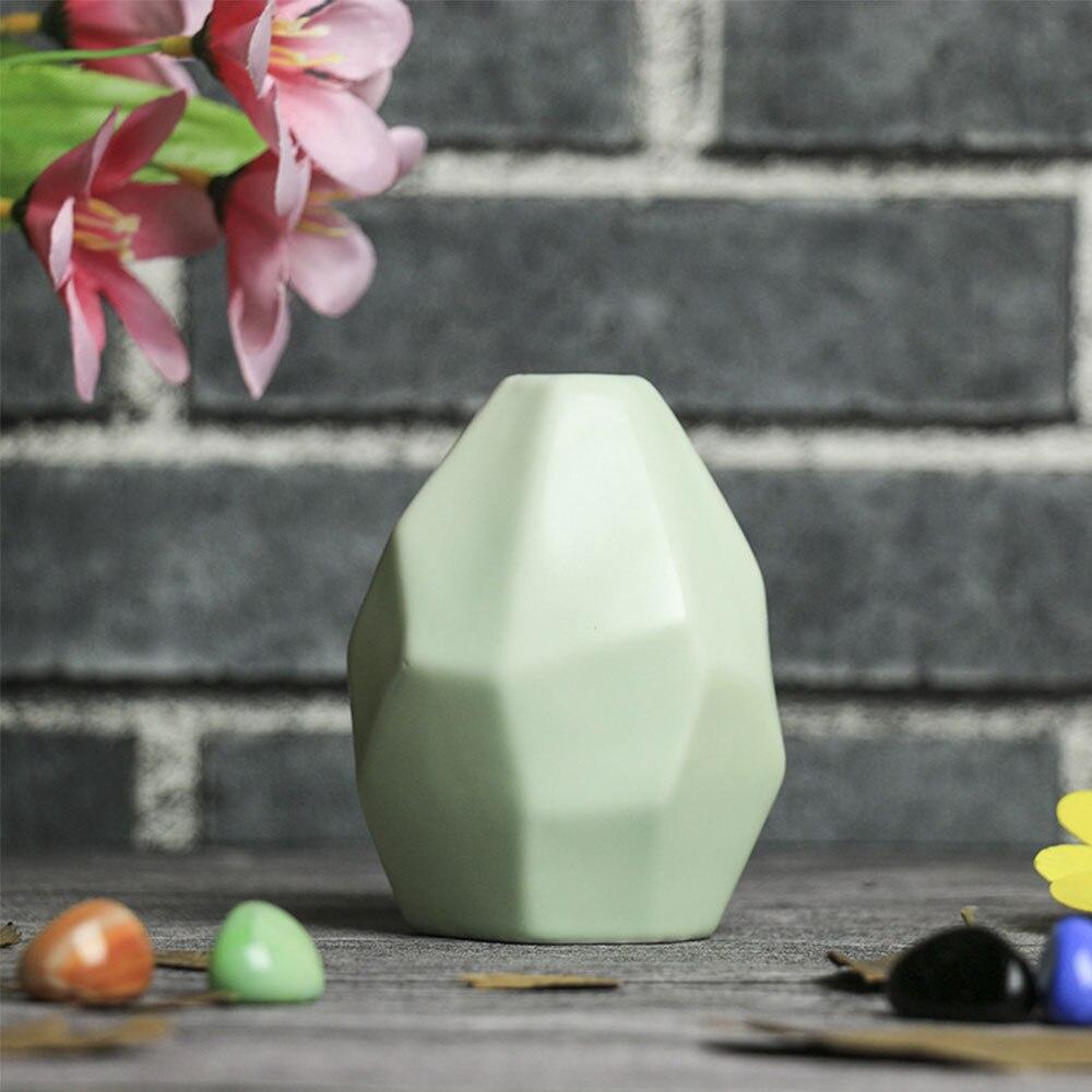 Керамическая ваза, сушеная ваза для цветов, украшение гостиной, сушеный цветочный контейнер, европейская ваза оригами, украшение стола