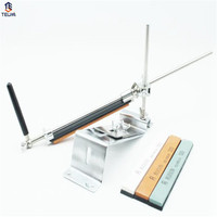 Knife Sharpener Professional Sharpening System 10 Set Lot Sharpening Stones Ruixin Fix Angle 4 Whetston Ruixin
