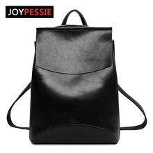 Joypessie Neue Design Pu Frauen Leder Rucksäcke Schultaschen Studenten Rucksack Damen frauen Reisetaschen Leder Paket