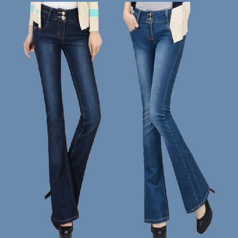 Online Buy Wholesale high waisted flare jeans from China high ...