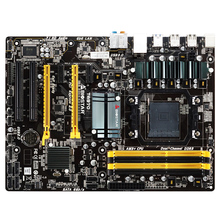 New original authentic computer motherboards for Biostar TA970 AM3 + support AM3 series processor
