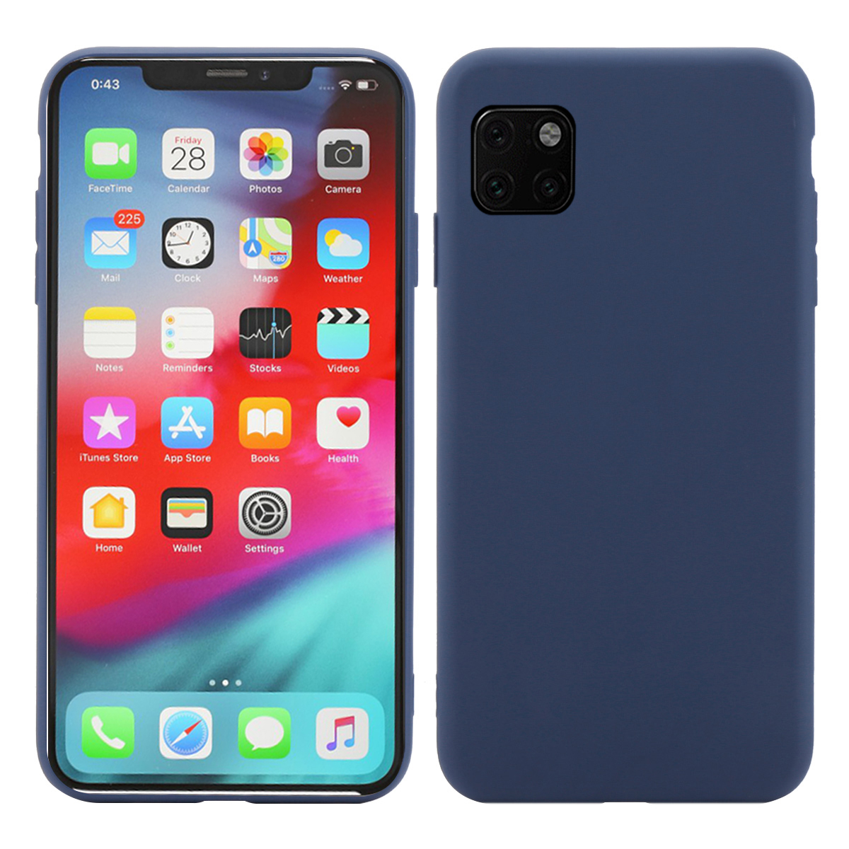 For iPhone 11 11 Pro 11 Pro Max Case Silicone Candy Color Slim Matte Soft TPU Cover For iPhone X Xs XR Xs Max Case Shockproof in Fitted Cases from Cellphones Telecommunications