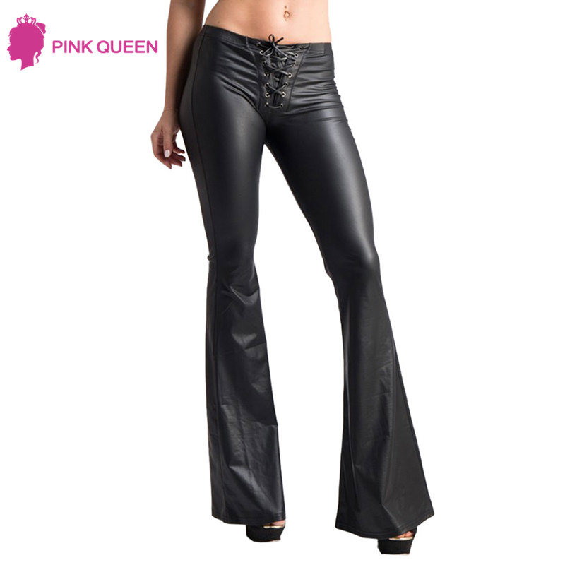 Pink Queen Fashion Flared Pantalones Womans Plus Size Calca Feminina - Ropa de mujer