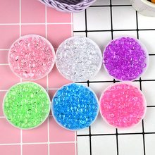 40g Colorful flat fishbowl Beads for slime filler Fish Tank Decor Children kids DIY slime Accessories Supplies(China)