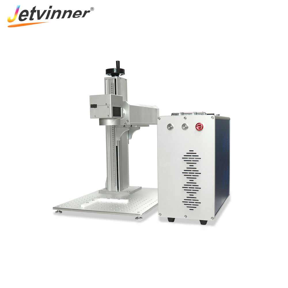 Jetvinner 20W Fiber Laser Marking Machine Metal Marking Machine Laser Engraving Machine For Nameplate Ring Metal