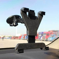 360 Rotatable Universal Car Cradle Mount Holder Windshield Stand For Ipad 2 3 4 Air Samsung