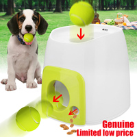 29%,Pet Dog Toy Automatic Interactive Ball Launcher Tennis Ball Rolls Out Machine Launching Fetching Balls Dog Training Tool