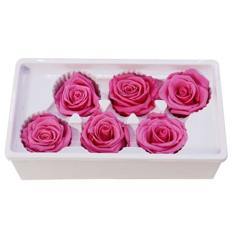 Eternal Roses Heads,Real Natural Fresh Preserved Rose,Beauty And The Beast Forever Rose,Immortal Flower Material