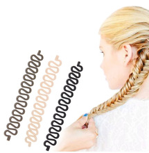 1PC Professional Hair Styling Tools Hairband Useful Braided Tress Horsetail Braider Hair Salon Tool Hair Accessories