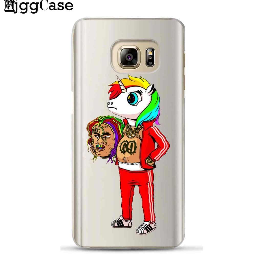 Хип-хоп рэппер Tekashi 69 6ix9ine чехол для телефона для samsung Galaxy S6 S7 край S8 S9 J3 J4 J5 J6 j7 A5 A7 2017 A6 A8 плюс 2018