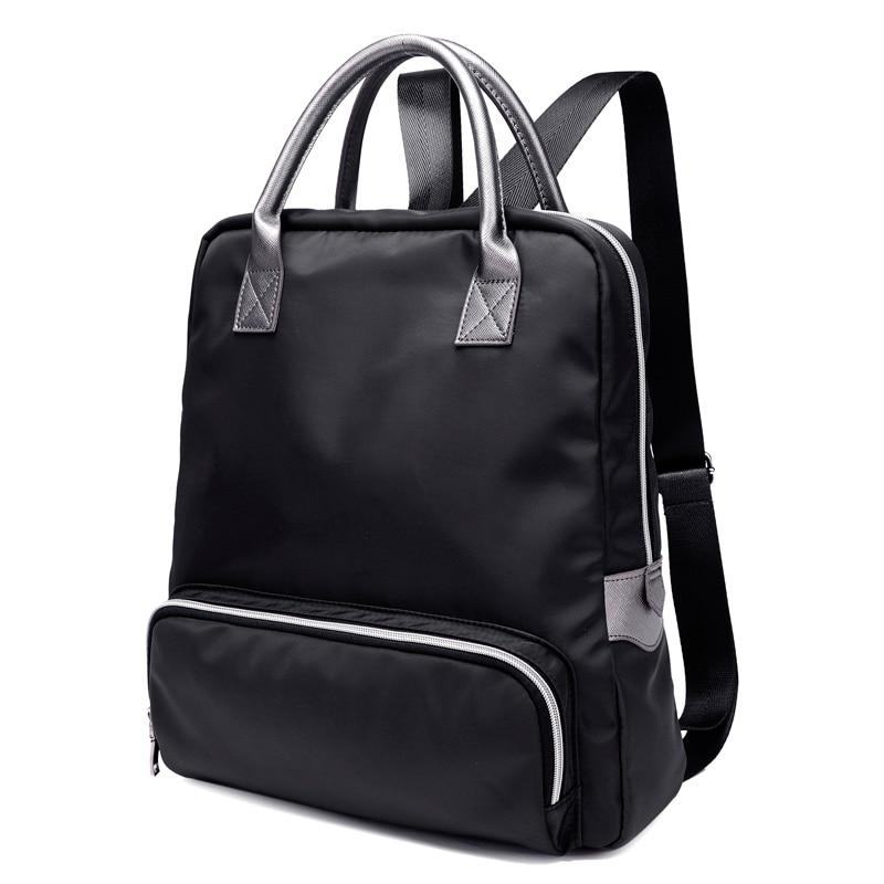2016 New Fashion shoulder bag female tide male waterproof nylon schoolbag travel backpack 1125