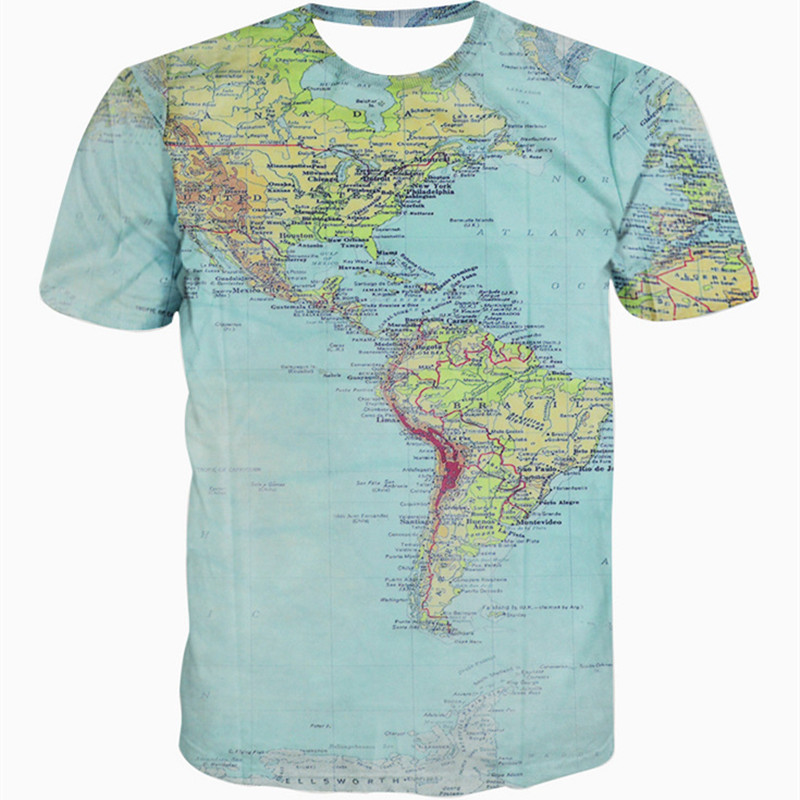 Compare Prices on World Map Globe Shirt Men Online ShoppingBuy