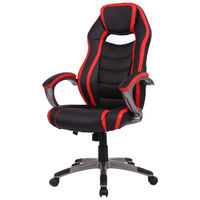 Giantex Racing Car Style High Back Office Computer Chair Bucket Seat Desk Gaming Chair Modern Home Office Furniture HW56143RE