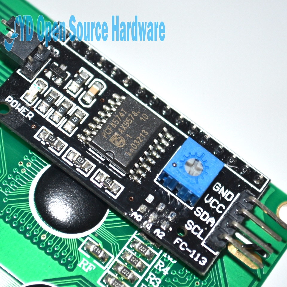 5pcs Enhanced Edition IIC/I2C/TWI 2004 204 20X4 Character LCD Module Display with Driver board For Arduino 60mm X 99mm