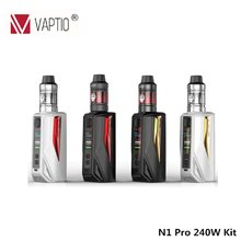 Vaptio N1 Pro 200W LITE Vape KIT Electronic Cigarette With 2.0ml/5.0ML atomizer Bypass 200W VW TCR Mod Temperature Control(China)