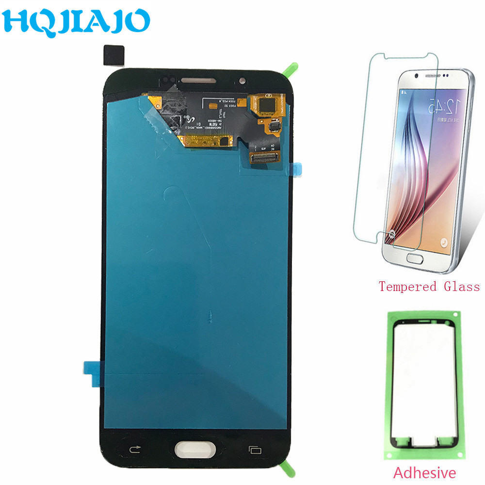 Super Amoled Screen For <font><b>Samsung</b></font> A8 A800 LCD Display Touch Screen Digitizer For <font><b>Samsung</b></font> Galaxy A8 <font><b>A8000</b></font> A800F Assembly Repair image