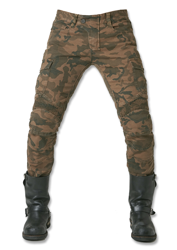 2018 Newest CoolUglyBROS motorpool camo ubs07 jeans camouflage leisure riding a motorcycle pants jeans boy jeans