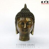 Chinese bronzes, Buddha heads, bronze Buddha heads, Shakya Muni Buddha's head