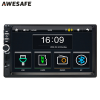 2 Din 7 Car DVD GPS Radio Player Universal Bluetooth Double Din Touch Screen Car Stereo