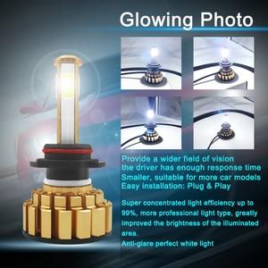 Image 2 - LED H7 H4 H8 H9 H11 9005 HB3 9006 HB4 LED Koplamp Auto Licht COB Chips Heldere Automobile Koplamp 8000LM 12 V 80 W 6000 K