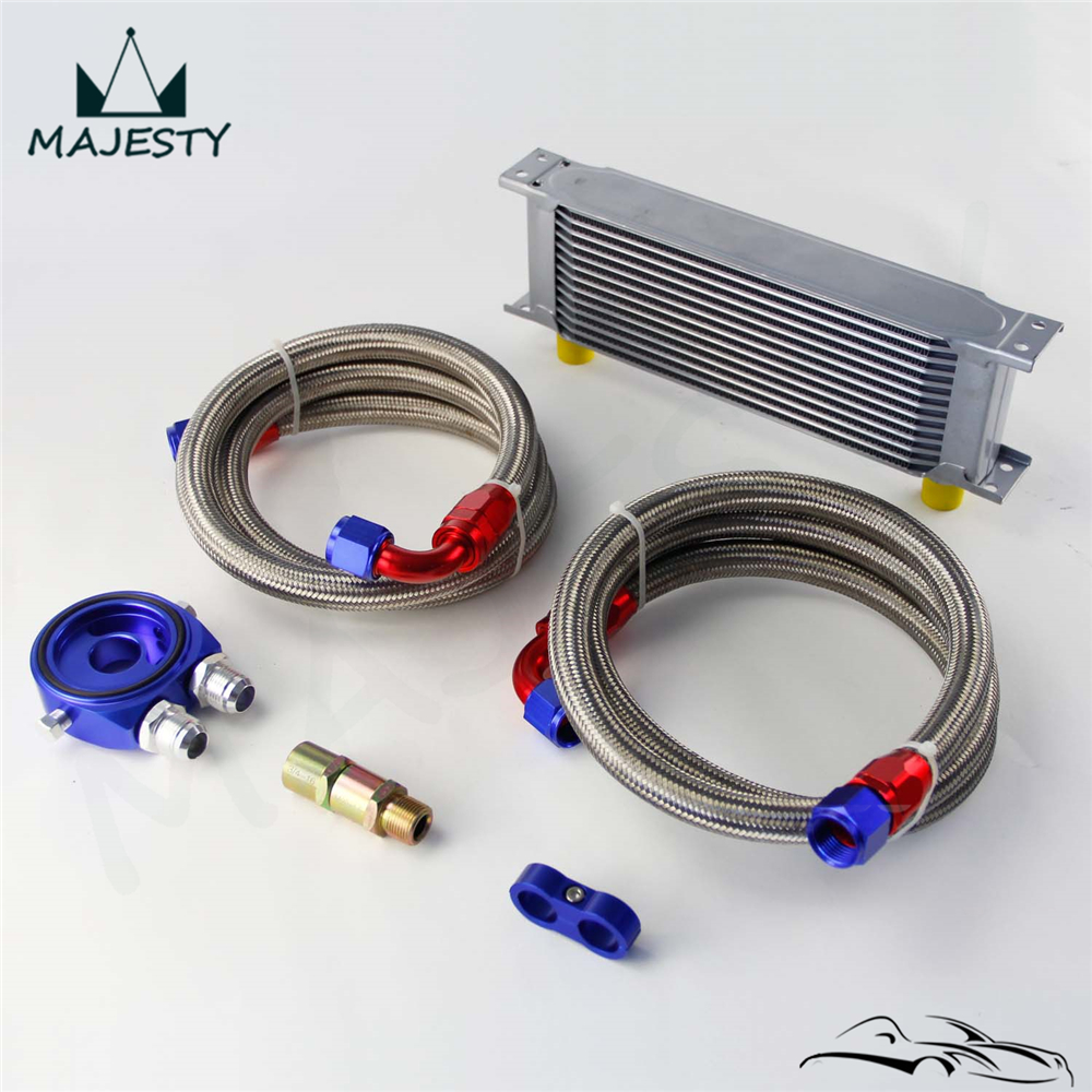 Aliexpress Com Buy Zuk Brand New Transmission Oil: 13 ROW AN 10AN UNIVERSAL ENGINE TRANSMISSION OIL COOLER