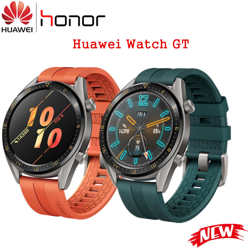 New Original Huawei Watch GT Outdoor Smart Watch GPS 1 39 AMOLED Screen Swim Jogging Cycling
