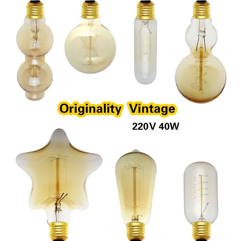 Buy G80 Led Filament E27 40w Bulb Online: Aliexpress.com : Buy E27 Retro Edison Light Bulb 40W