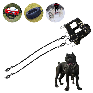 Image 3 - Strong Nylon Pet Harness Dog Training Products Large Dogs Weight Pulling Harness For German Shepherd K9 Dog Agility Product
