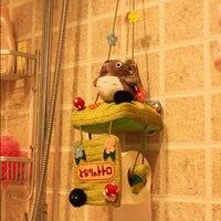 كانديس قوه أفخم لعبة محشوة دمية الإبداعية توتورو قماش لطيف الكرتون شنقا منشفة ورقية حامل رف مضحك هدية عيد 1 قطعة