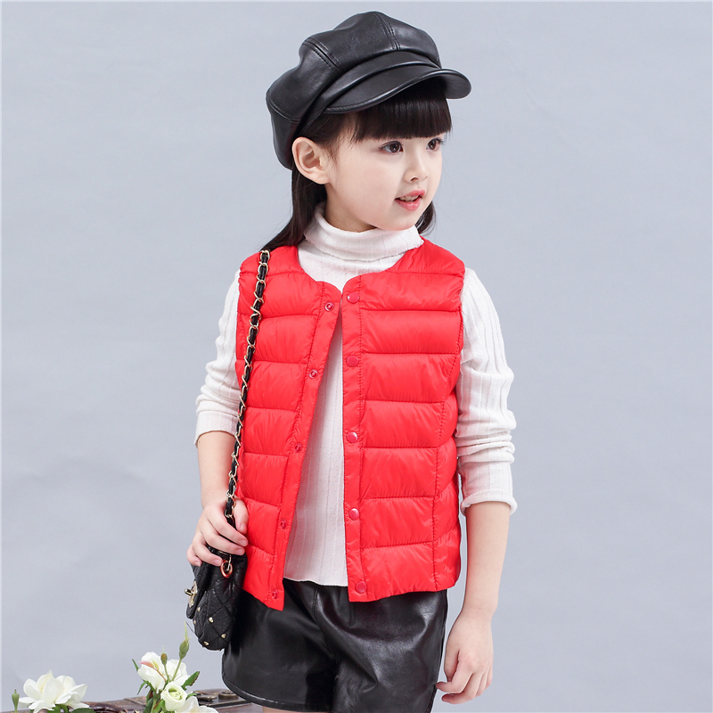 Children's Clothing Vests & Waistcoats cotton vest for baby girl boy winter spring warm vest children sleeveless jacket parkas