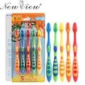 5 Unids/set Cuidado de la Higiene Oral cepillo de Dientes Cepillo de Dientes Suave Para Niños de Los Niños