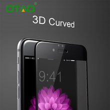 Real 3D Полное Покрытие Закаленное Стекло Защитная Пленка Для Apple iPhone 6 6 S Plus 9 H Полное Покрытие Против Царапин Защитная