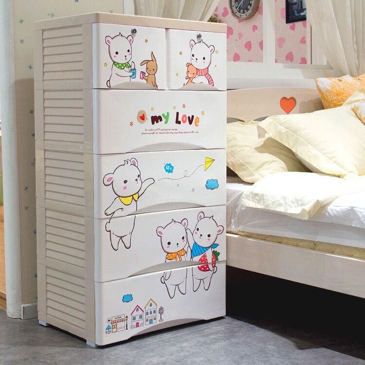hongjia enfants tiroir armoires de rangement casiers armoire finition tiroirs en plastique b b. Black Bedroom Furniture Sets. Home Design Ideas