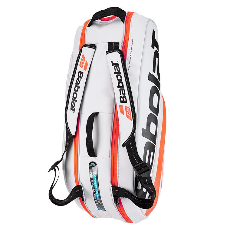 100 Genuine Babolat Brand Raquete De Tenis Backup New Back Pack Tennis Bag 6 Pieces Of