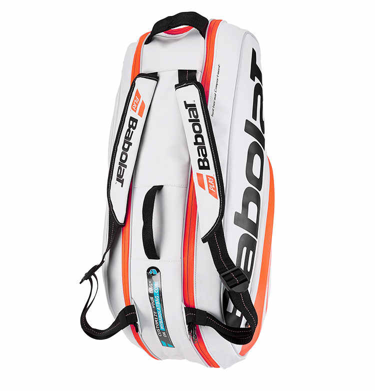 100% Genuine Babolat Brand Raquete De Tenis Backup New Back Pack Tennis Bag 6 Pieces Of Equipment