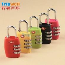 padlock colorful password lock coded luggage bag
