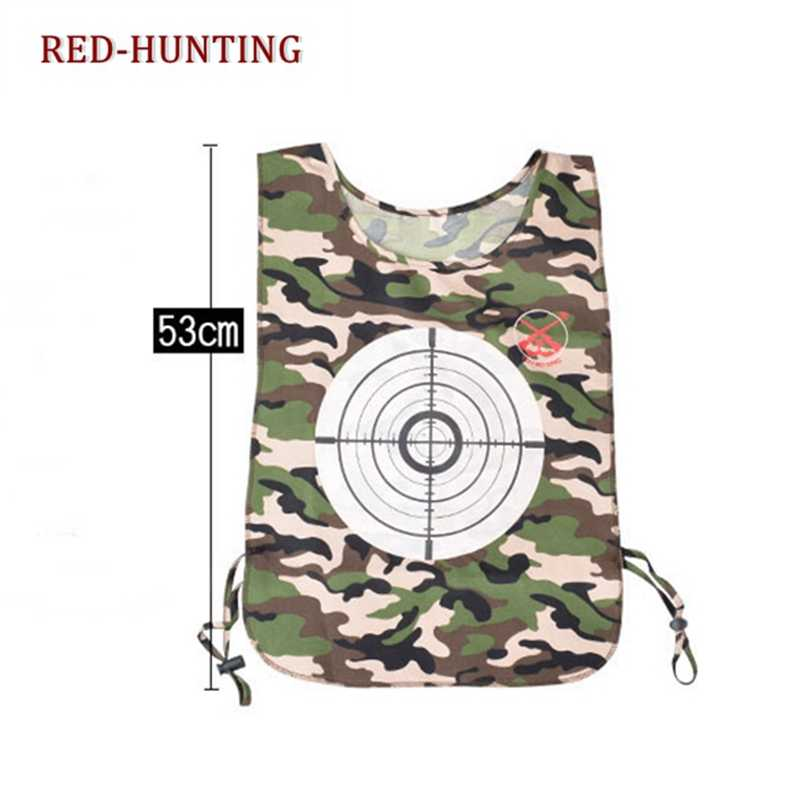 473b190e302b ... Outdoor Paintball Discoloration Target Pattern Vest Suit for Elite  Games ...