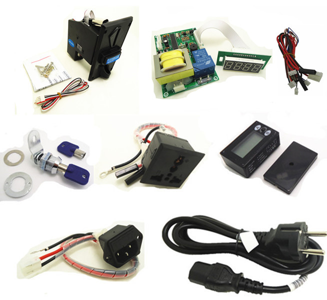 timer set for 220V EURO EU plug multi coin operated Time Control Power Supply, multi coin acceptor, reset counter, lock, sockets peavey 15 v ac power supply euro plug