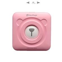 Impressora de fotos pequena impressora de imagem mini impressora de fotos portátil para o telefone