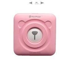 Piccola Stampante Immagine Stampante Mini Stampante Portatile Stampante Fotografica per il telefono