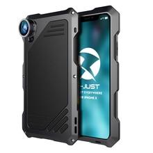 Water & Shock Proof Fisheye/Wide/Macro lens iPhone X Case
