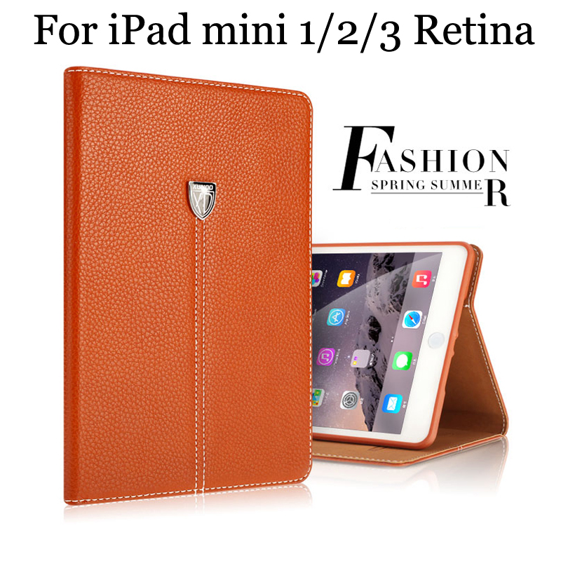 2017 Xundd Hot Vintage PU Leather Foldable Flip Case Cover For iPad mini 1/2/3 Retina protective stand Shell free shipping top quality hot selling fashion design anchors pattern flip stand leather case cover for ipad mini 2 retina jul 12