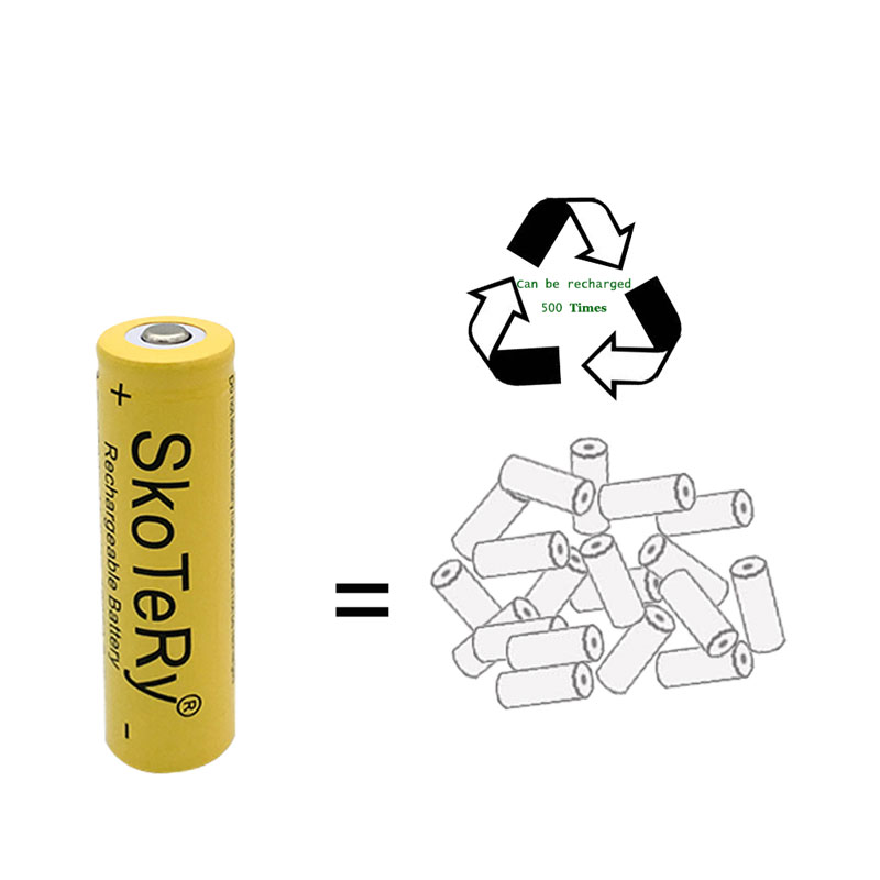 8PCSX3 7V 2800mAh 18650 Li ion Rechargeable Battery for Flashlight 18650 3 7v 18650 battery batteries Free Shipping Yellow in Replacement Batteries from Consumer Electronics