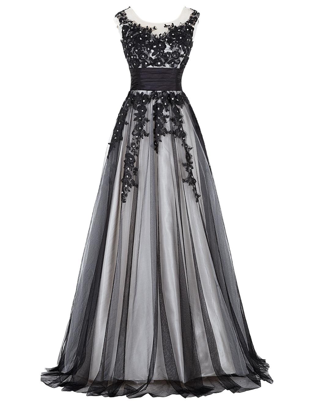 Elegant Lace Appliques Mother of the Bride Dress 13