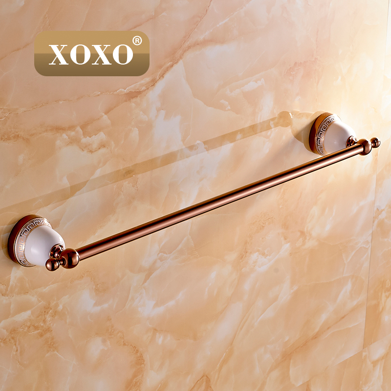 Single Towel Bar,Towel Holder, Towel rack Solid Brass & Crystal Made,Chrome Finish, Bathroom Accessories 10024GT-1 high quality solid brass bathroom towel bar single towel rack towel holder chrome polished