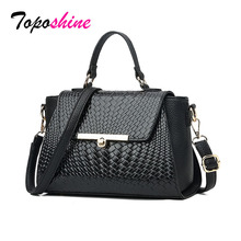 2019 Large Quality Leather Female Shoulder Bag New Women Top-handle Bags with Rivets Vintage Fashion Ladies Tote Bags Sac цены